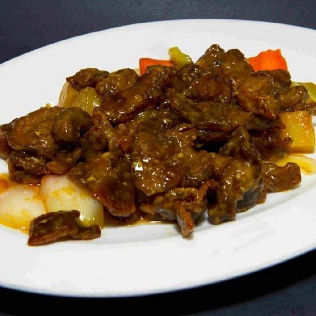 89.	Sweet and Sour Ginger Beef