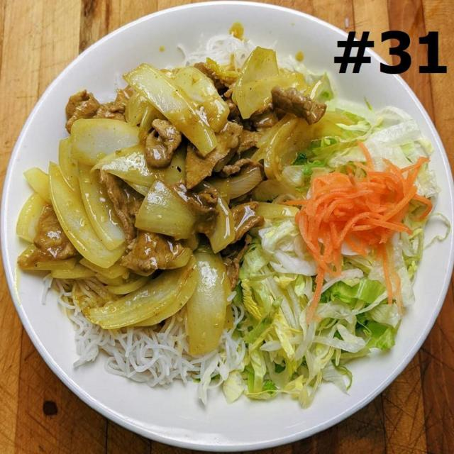 31.  Stir Fried Curry Beef