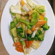 105.	Fried Mixed Vegetables