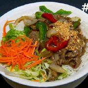 28.  Spicy Lemon Grass Stir Fried Beef