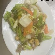 84.	Mixed Vegetables Beef