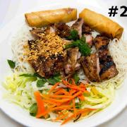 27.  Grilled Chicken and Spring Rolls