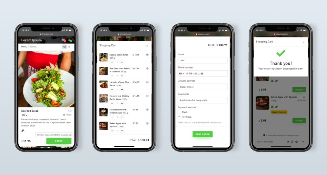 Ordering Food for Delivery — New Opportunities from Stravopys